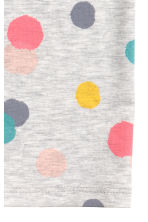 Spotted tube scarf - Light grey/Spotted - Kids | H&M CN 3
