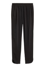 Pull-on trousers - Black - Ladies | H&M GB 2