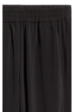 Pull-on trousers - Black - Ladies | H&M GB 3