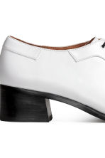Heeled Derby shoes - White - Ladies | H&M 4