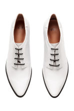 Heeled Derby shoes - White - Ladies | H&M 2