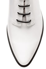 Heeled Derby shoes - White - Ladies | H&M 3