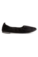 Soft ballet pumps - Black - Ladies | H&M 1
