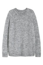 Knitted jumper - Grey marl - Ladies | H&M CN 2