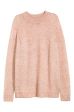 Knitted jumper - Powder marl -  | H&M 2