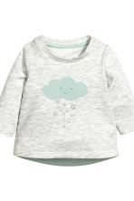 Top and trousers - Light grey/Cloud - Kids | H&M CN 2