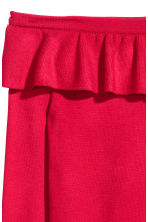 Off-the-shoulder jumper - Red - Ladies | H&M CN 3