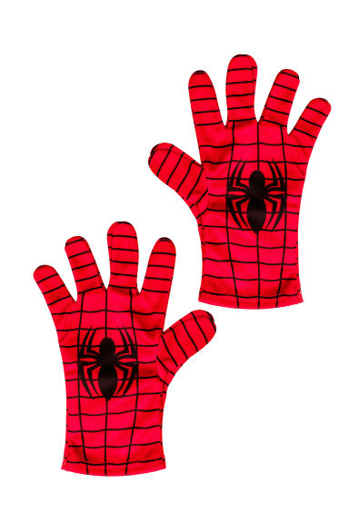 Superhero gloves - Red/Spiderman - Kids | H&M 1