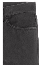Straight Regular Jeans - Black denim - Men | H&M 4