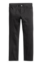 Straight Regular Jeans - Black denim - Men | H&M 2