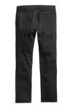 Straight Regular Jeans - Black denim - Men | H&M 3