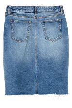 Denim skirt - Denim blue -  | H&M CN 3