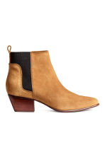 Suede ankle boots - Camel - Ladies | H&M 2