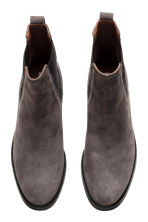 Suede Chelsea boots - Dark grey - Ladies | H&M 2