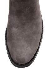 Suede Chelsea boots - Dark grey - Ladies | H&M 3