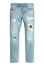 Relaxed Skinny Jeans - Light denim blue - Men | H&M CN 2