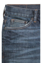 Relaxed Skinny Jeans - Azul denim oscuro - HOMBRE | H&M ES 4