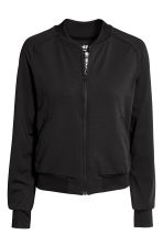 Sports jacket - Black - Ladies | H&M CN 2