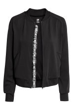 Sports jacket - Black - Ladies | H&M CN 3