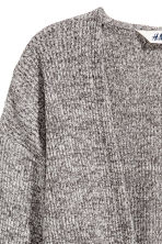Cropped cardigan - Grey marl - Kids | H&M CN 3