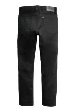 Straight Regular Jeans - Black/No fade black - Men | H&M 3
