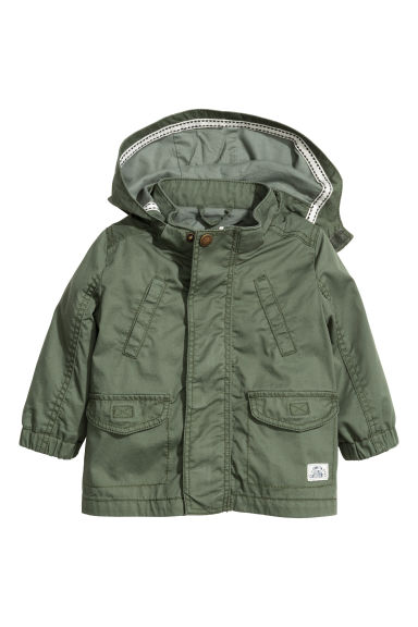 Parka - Khaki green - Kids | H&M 1