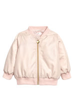 Bomber jacket - Powder pink - Kids | H&M 1