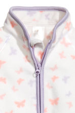 Fleece jacket - White/Butterflies - Kids | H&M 2