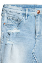 Denim skirt - Light denim blue - Kids | H&M CN 4