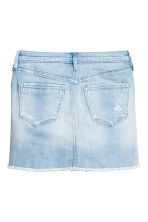 Denim skirt - Light denim blue - Kids | H&M CN 3
