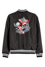 Bomber jacket - Black - Men | H&M CN 3