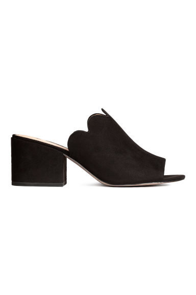 Mules - Black -  | H&M