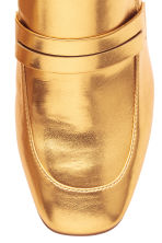 Block-heeled loafers - Gold - Ladies | H&M 4