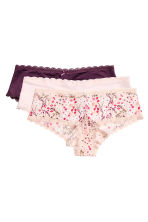 3-pack hipster briefs - Porcelain - Ladies | H&M CN 2