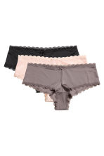 3-pack hipster briefs - Mole - Ladies | H&M 2