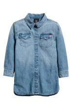 Camicia lunga in denim - Blu denim - BAMBINO | H&M IT 2