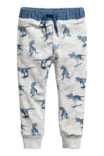 Joggers - Light grey/Dinosaurs - Kids | H&M CA 2