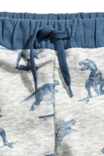 Joggers - Light grey/Dinosaurs - Kids | H&M CA 3