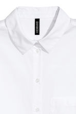 Camicia oversize - Bianco - DONNA | H&M IT 3