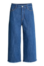 Relaxed High Waist Jeans - Denim blue - Ladies | H&M 2