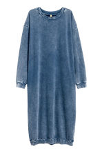 Sweatshirt dress - Dark blue - Ladies | H&M CN 2