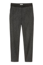 Pull-on trousers - Dark grey marl - Ladies | H&M 2