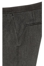 Pull-on trousers - Dark grey marl - Ladies | H&M 4