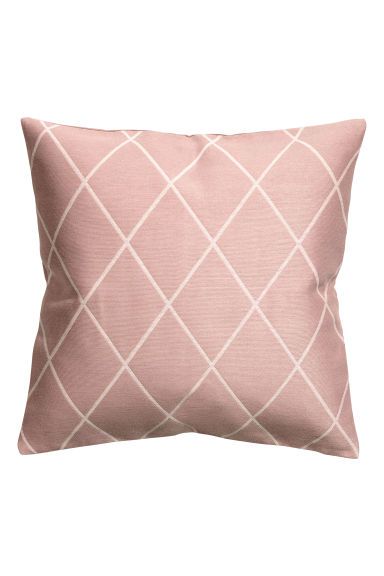 Jacquard-weave cushion cover - Dusky pink - Home All | H&M CN 1