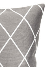 Jacquard-weave cushion cover - Grey - Home All | H&M GB 2