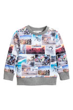 Sweatshirt - Photoprint - Kids | H&M CN 2