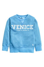 運動衫 - Blue/Venice - Kids | H&M 1