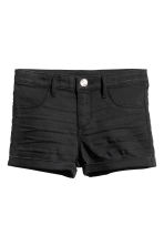 Denim shorts - Black - Kids | H&M 2