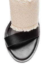 Sandals - Natural white/Black - Ladies | H&M 4