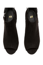 Peep-toe ankle boots - Black - Ladies | H&M 2